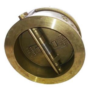 ASTM B148 Wafer Dual Plate Check Valve, 8 Inch, 150#