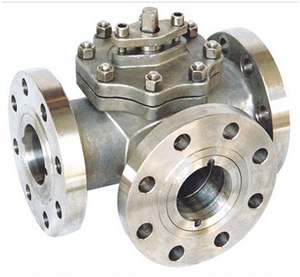 Three-Way Casting Ball Valve, CL900, 1 Inch, WCB